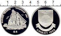 Изображение Монеты Кирибати 5 долларов 1999 Серебро Proof