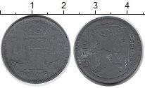 Изображение Монеты Бельгия 1 франк 1942 Цинк XF-