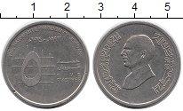 Изображение Монеты Иордания 5 пиастров 1993 Медно-никель XF