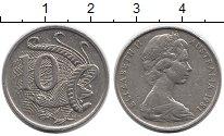 Изображение Монеты Австралия 10 центов 1981 Медно-никель XF