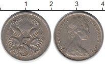 Изображение Монеты Австралия 5 центов 1974 Медно-никель XF
