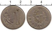 Изображение Монеты Уругвай 1 песо 1980 Медно-никель XF