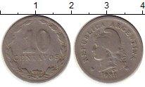 Изображение Монеты Аргентина 10 сентаво 1938 Медно-никель VF
