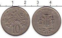 Изображение Монеты Ямайка 10 центов 1975 Медно-никель VF