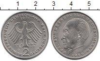 Изображение Монеты ФРГ 2 марки 1971 Медно-никель UNC-