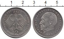 Изображение Монеты Германия ФРГ 2 марки 1982 Медно-никель UNC-