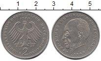 Изображение Монеты ФРГ 2 марки 1983 Медно-никель XF