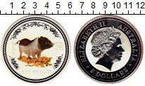 Изображение Монеты Австралия 8 долларов 2007 Серебро Proof-