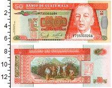 Изображение Банкноты Гватемала 50 кетсалей 2006  UNC