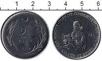 Изображение Монеты Турция 2 1/2 лиры 1978 Сталь UNC-