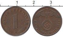 Изображение Монеты Германия Третий Рейх 1 пфенниг 1937 Бронза XF