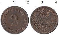 Изображение Монеты Германия 2 пфеннига 1915 Бронза XF