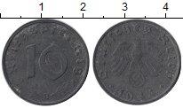 Изображение Монеты Германия Третий Рейх 10 пфеннигов 1944 Цинк XF-