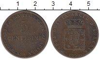 Изображение Монеты Италия Парма 5 сентесим 1830 Медь XF-