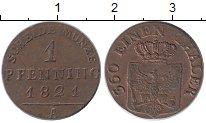 Изображение Монеты Германия Пруссия 1 пфенниг 1821 Медь XF