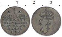 Изображение Монеты Германия Мекленбург-Шверин 1 шиллинг 1772 Серебро XF