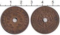 Изображение Монеты Великобритания Родезия 1 пенни 1943 Медь XF