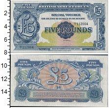 Банкнота Великобритания 5 фунтов 1948 UNC-
