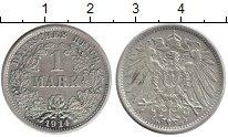 Изображение Монеты Германия 1 марка 1914 Серебро XF