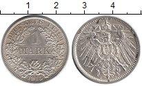 Изображение Монеты Германия 1 марка 1915 Серебро XF