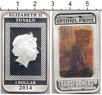 Изображение Монеты Тувалу 1 доллар 2014 Серебро Proof