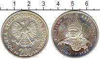 Изображение Монеты Польша 200 злотых 1982 Серебро Proof-
