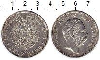 Изображение Монеты Саксония 5 марок 1889 Серебро XF