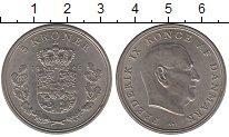Изображение Монеты Дания 5 крон 1965 Медно-никель UNC-