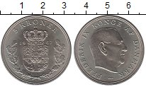 Изображение Монеты Дания 5 крон 1967 Медно-никель UNC-