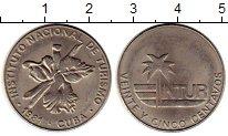 Изображение Монеты Куба 25 сентаво 1981 Медно-никель XF