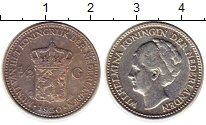 Изображение Монеты Нидерланды 1/2 гульдена 1930 Серебро XF