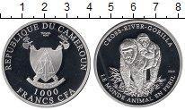 Изображение Монеты Камерун 1000 франков 2010 Серебро Proof