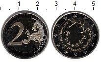 Изображение Монеты Словения 2 евро 2017 Биметалл UNC