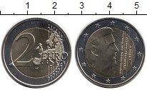 Изображение Монеты Люксембург 2 евро 2014 Биметалл UNC