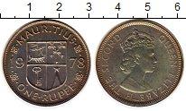 Изображение Монеты Маврикий 1 рупия 1978 Медно-никель UNC-