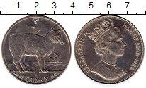 Изображение Монеты Великобритания Остров Мэн 1 крона 1988 Медно-никель UNC-