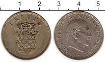 Изображение Монеты Дания 1 крона 1961 Медно-никель XF