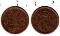 Изображение Монеты Дания 1 эре 1923 Бронза XF