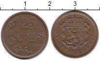 Изображение Монеты Люксембург 25 сантим 1946 Бронза XF