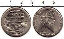 Изображение Монеты Австралия 20 центов 1981 Медно-никель UNC-