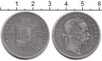 Изображение Монеты Венгрия 1 форинт 1879 Серебро VF