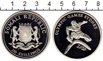 Изображение Монеты Сомали 250 шиллингов 2000 Серебро Proof