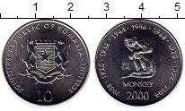 Изображение Монеты Сомали 10 шиллингов 2000 Сталь UNC