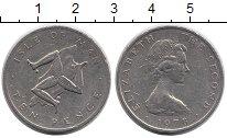 Изображение Монеты Великобритания Остров Мэн 10 пенсов 1978 Медно-никель XF-