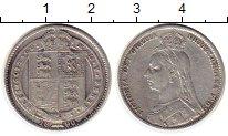 Изображение Монеты Великобритания 1 шиллинг 1890 Серебро XF-
