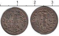 Изображение Монеты Швейцария 1 рапп 1801 Серебро XF-