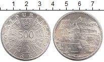 Изображение Монеты Австрия 500 шиллингов 1980 Серебро UNC-
