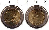 Изображение Монеты Сан-Марино 2 евро 2004 Биметалл UNC-