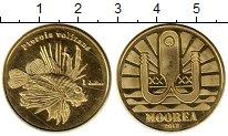 Изображение Мелочь Франция Полинезия 1 доллар 2013 Латунь XF