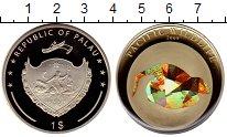 Изображение Монеты Палау 1 доллар 2009 Посеребрение Proof-
